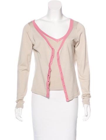 Etro Silk Knit Cardigan Set None