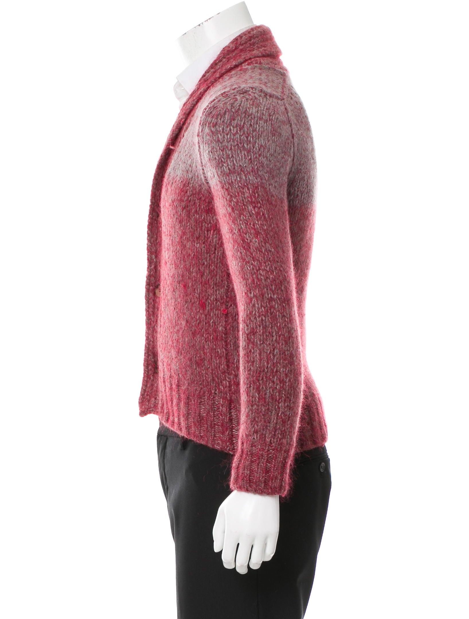 Knitting Cardigan Collar : Etro knit shawl collar cardigan clothing etr