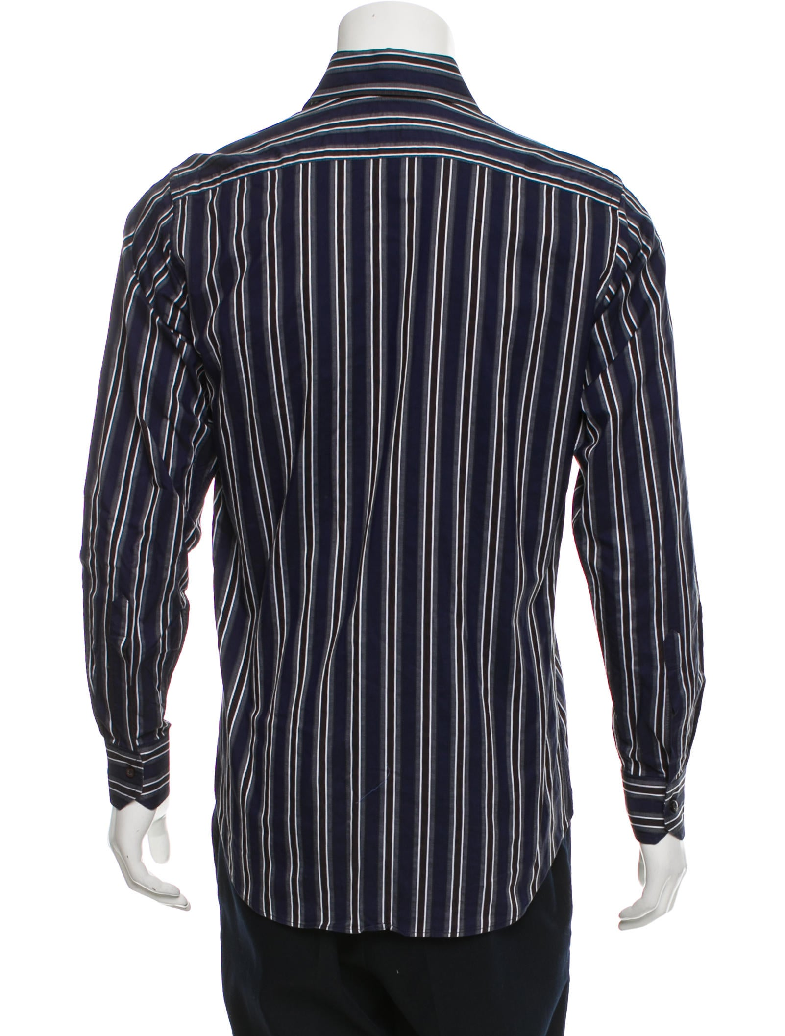 Etro Striped Button Up Shirt Clothing Etr47837 The