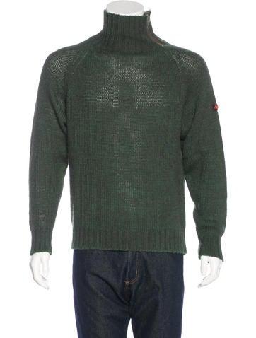 Etro Alpaca-Blend Mock Neck Sweater None