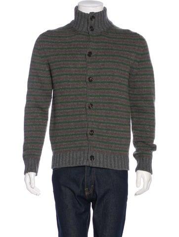 Etro Striped Knit Cardigan None