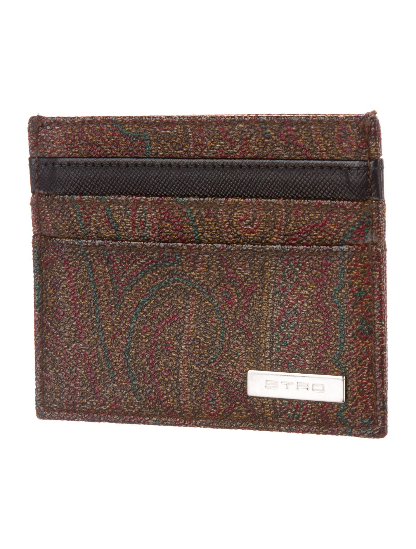 Etro Paisley Card Holder - Accessories - ETR48044 | The ...
