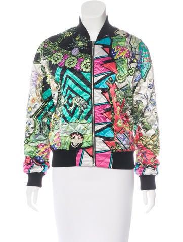 Etro Silk Bomber Jacket None