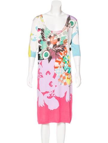 Etro Silk Printed Dress None