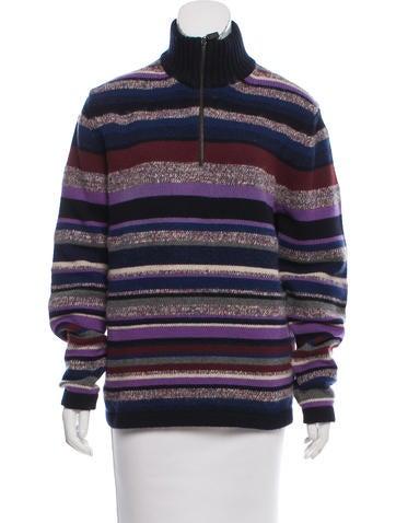 Etro Striped Wool Sweater None