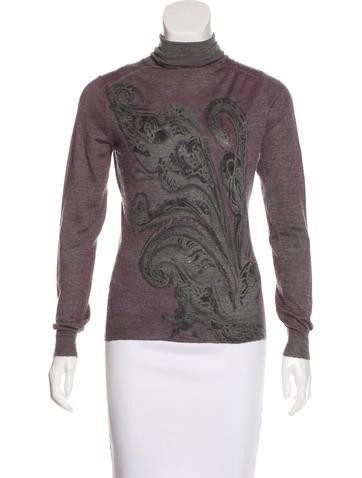 Etro Cashmere & Silk Sweater None