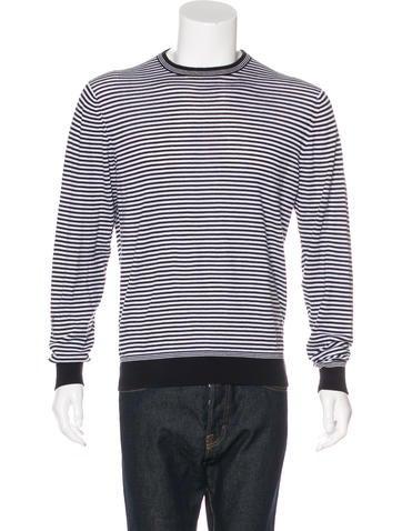 Etro Striped Crewneck Sweater None