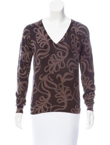 Etro Wool V-Neck Sweater None