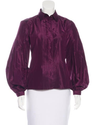 Etro Silk Button-Up Top None