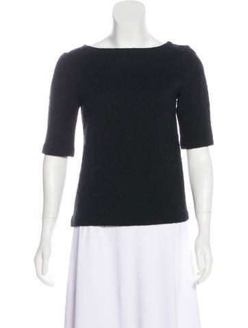 Etro Wool Textured Top None