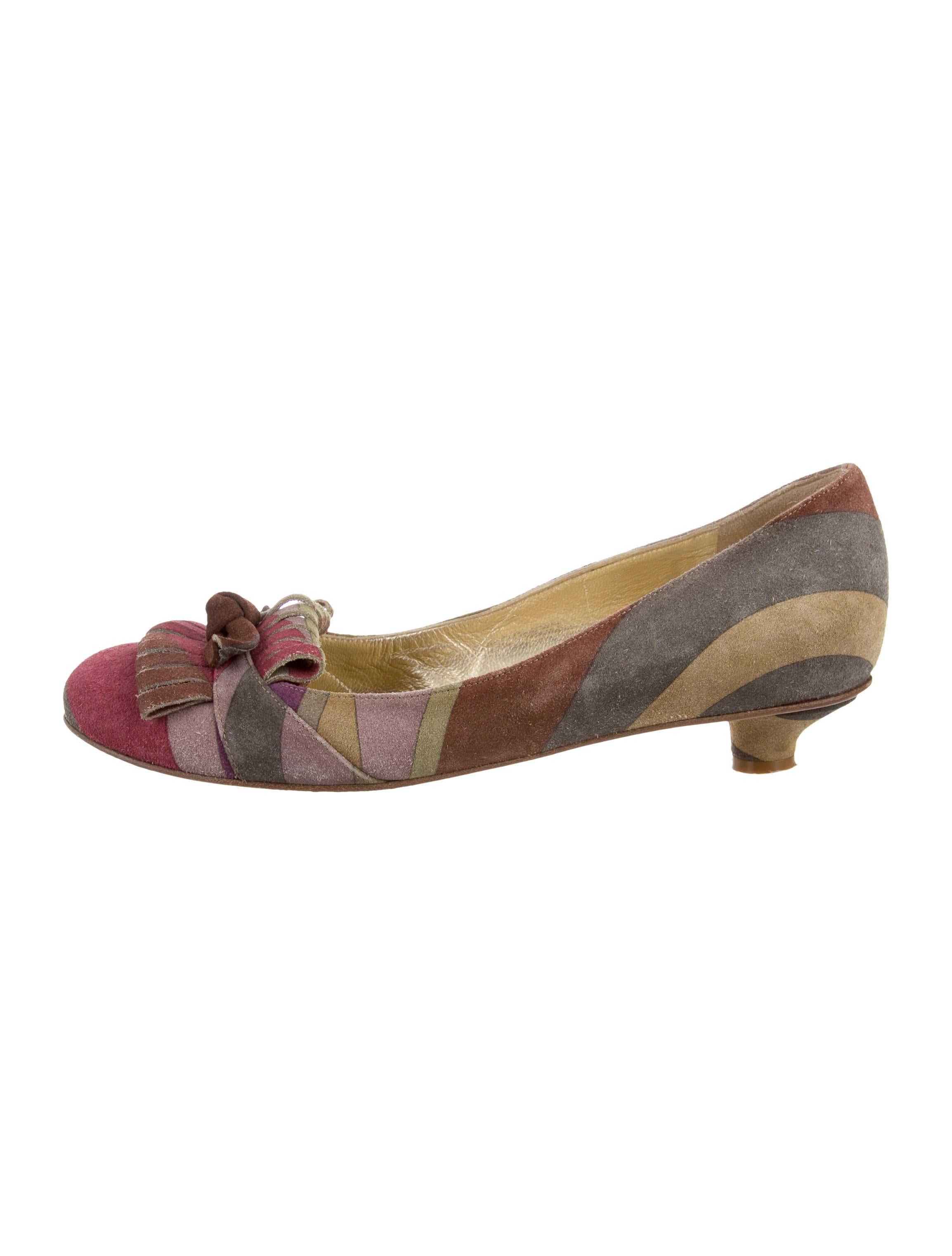 Etro Printed Round-Toe Pumps clearance clearance store AWBetsI
