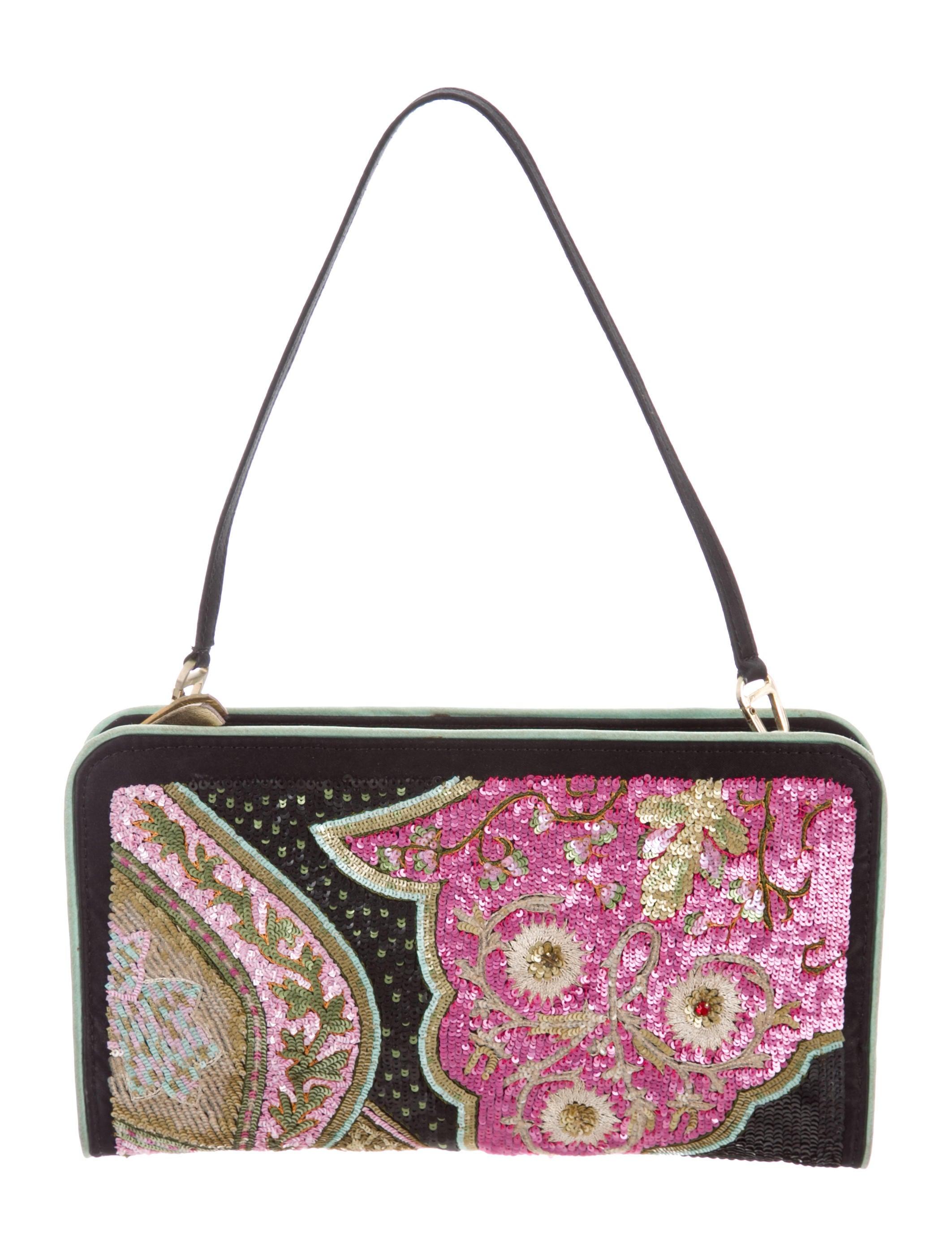 2098905df4 Etro Sequin-Embellished Shoulder Bag - Handbags - ETR60699