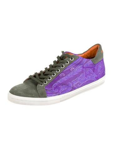 496669cabd157b Etro. Paisley Printed Sneakers