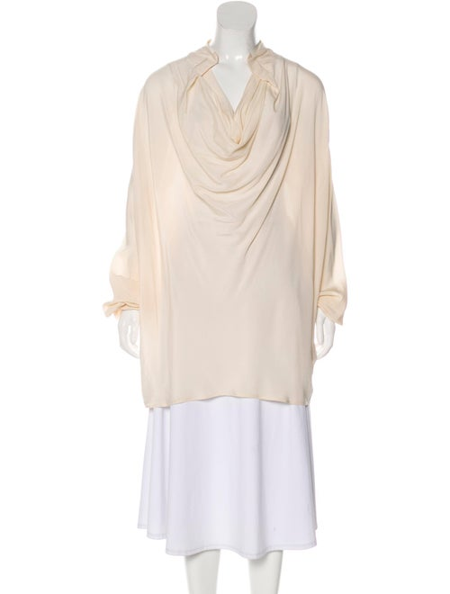 Etro Long Sleeve Silk Blouse