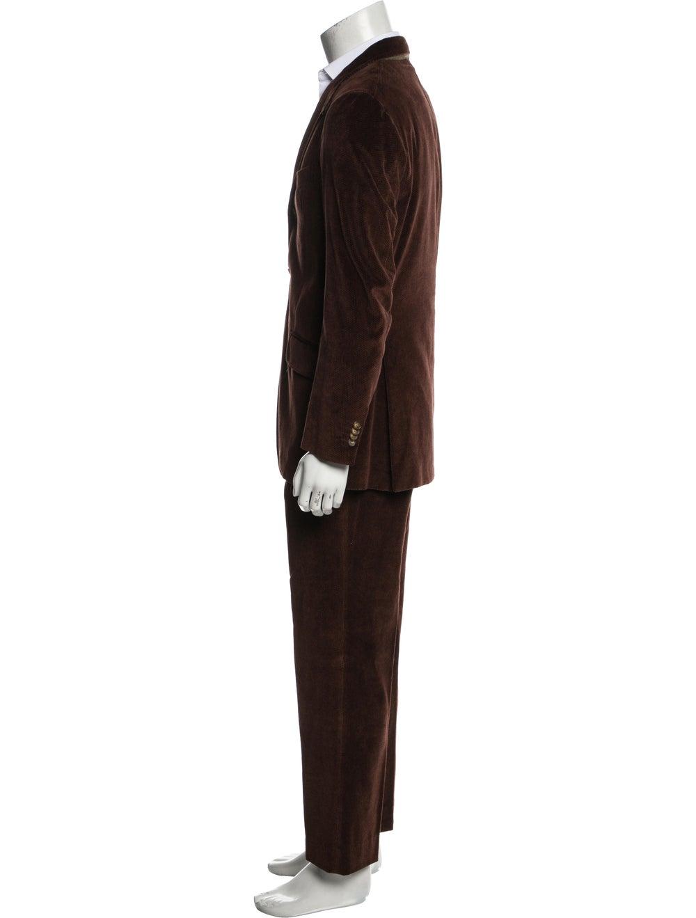 Etro Corduroy Two-Piece Suit brown - image 2