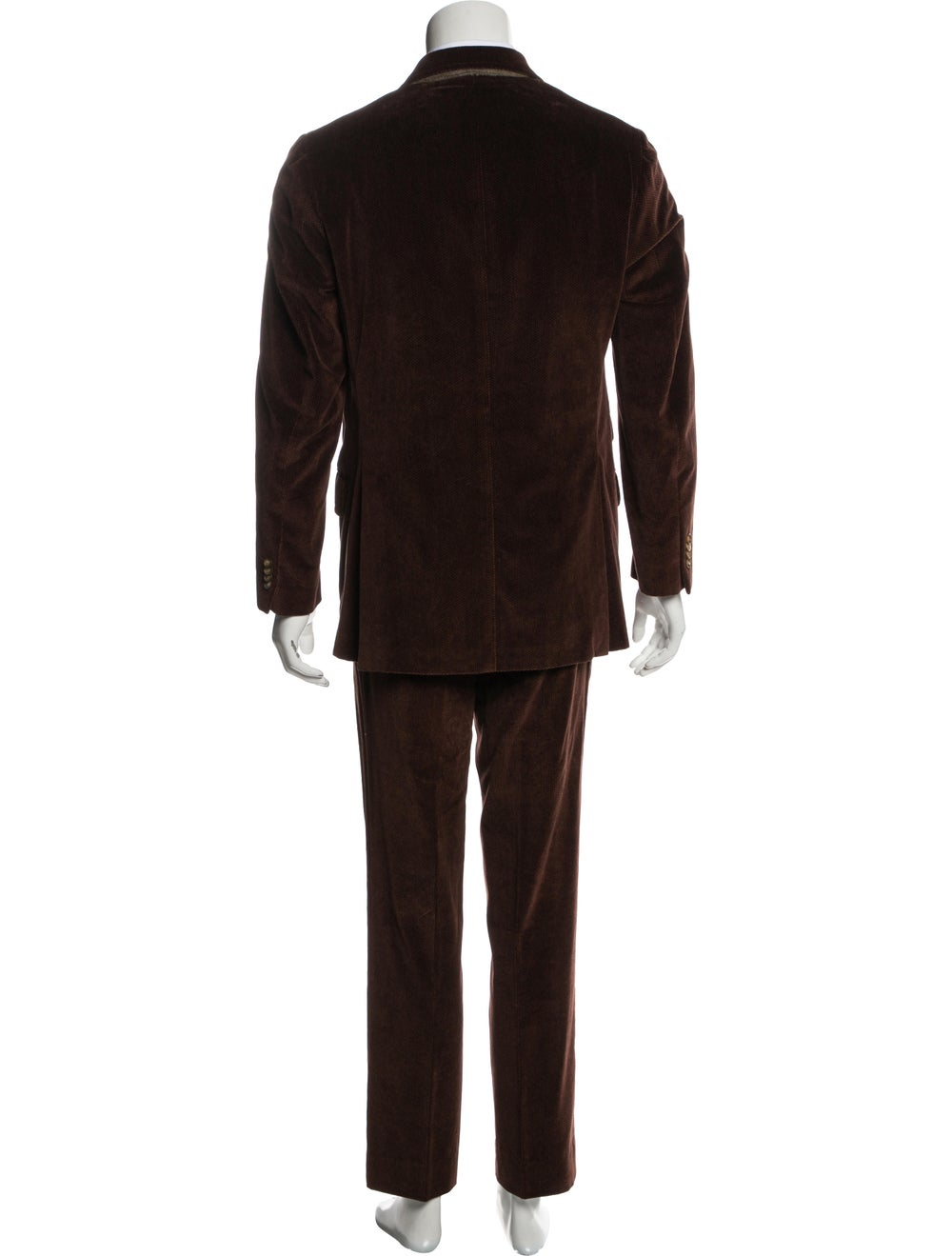 Etro Corduroy Two-Piece Suit brown - image 3