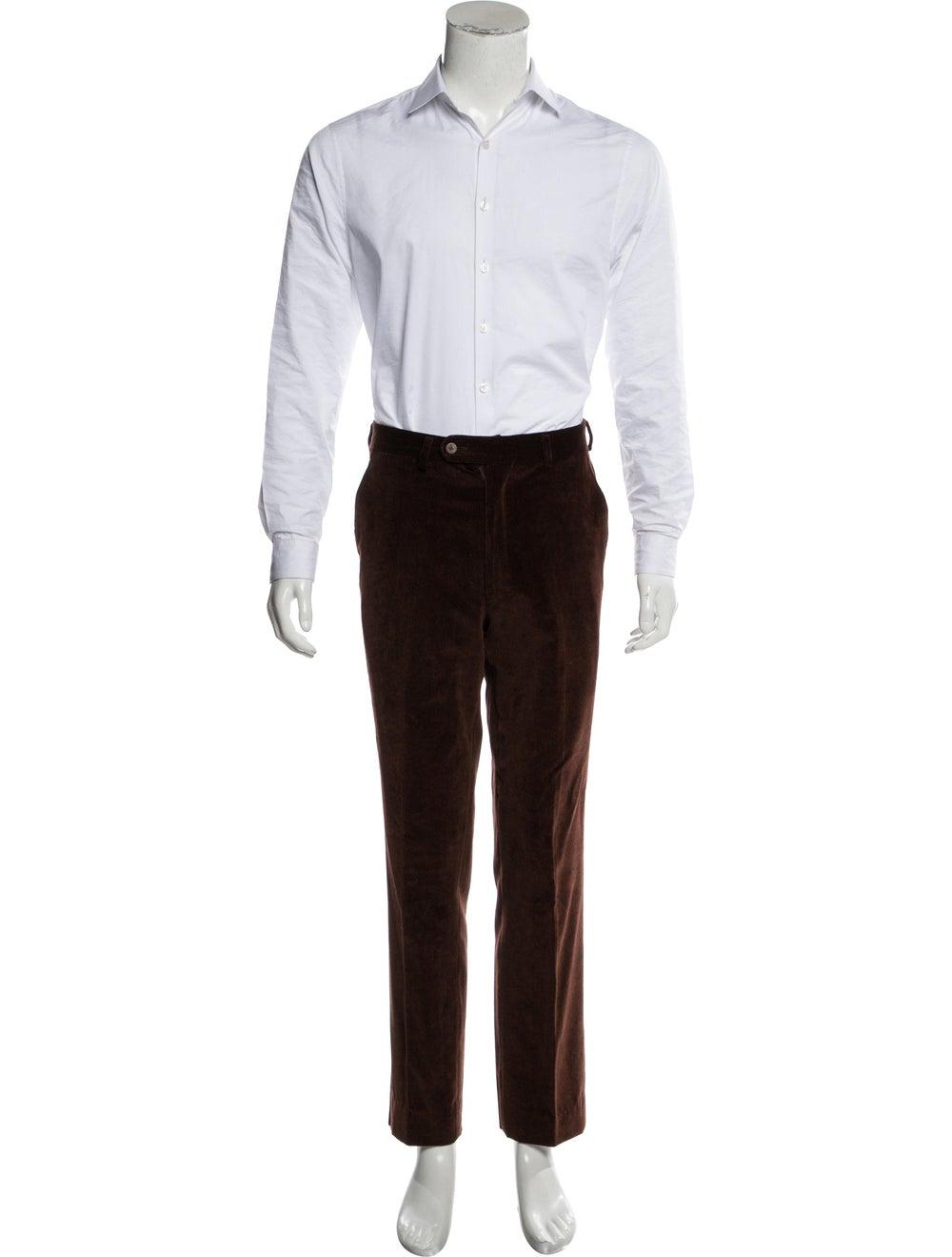 Etro Corduroy Two-Piece Suit brown - image 4