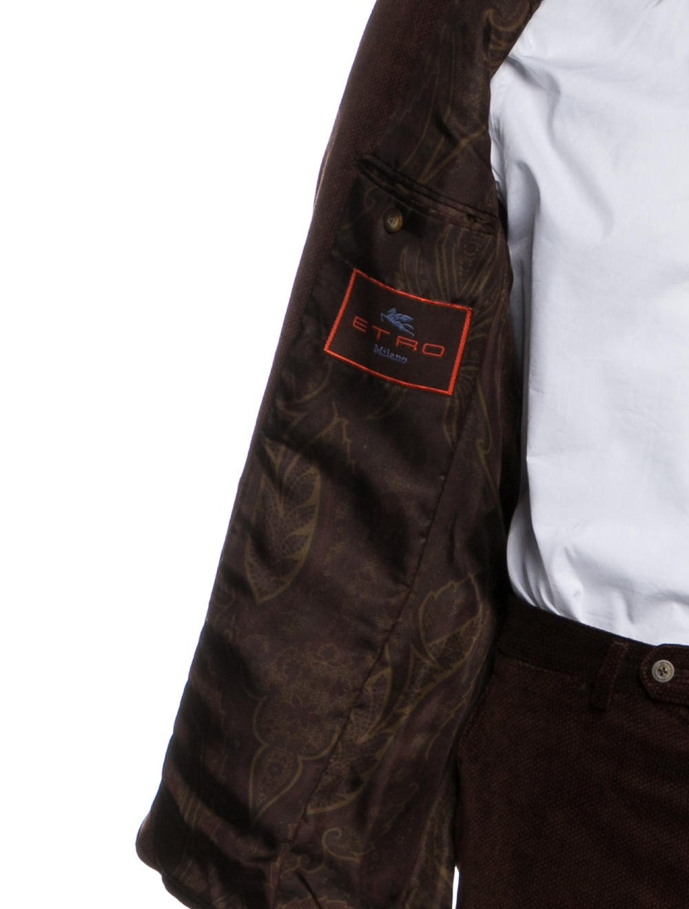 Etro Corduroy Two-Piece Suit brown - image 5