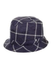 Etro Plaid Bucket Hat