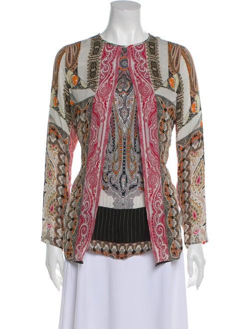 Etro Silk Printed Blouse