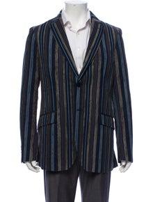 Etro Textured Stripe Blazer