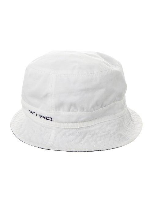 Etro Logo Bucket Hat white