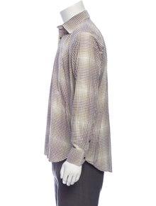 Etro Printed Long Sleeve Shirt