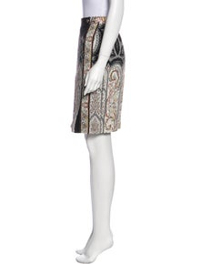 Etro Paisley Print Knee-Length Skirt