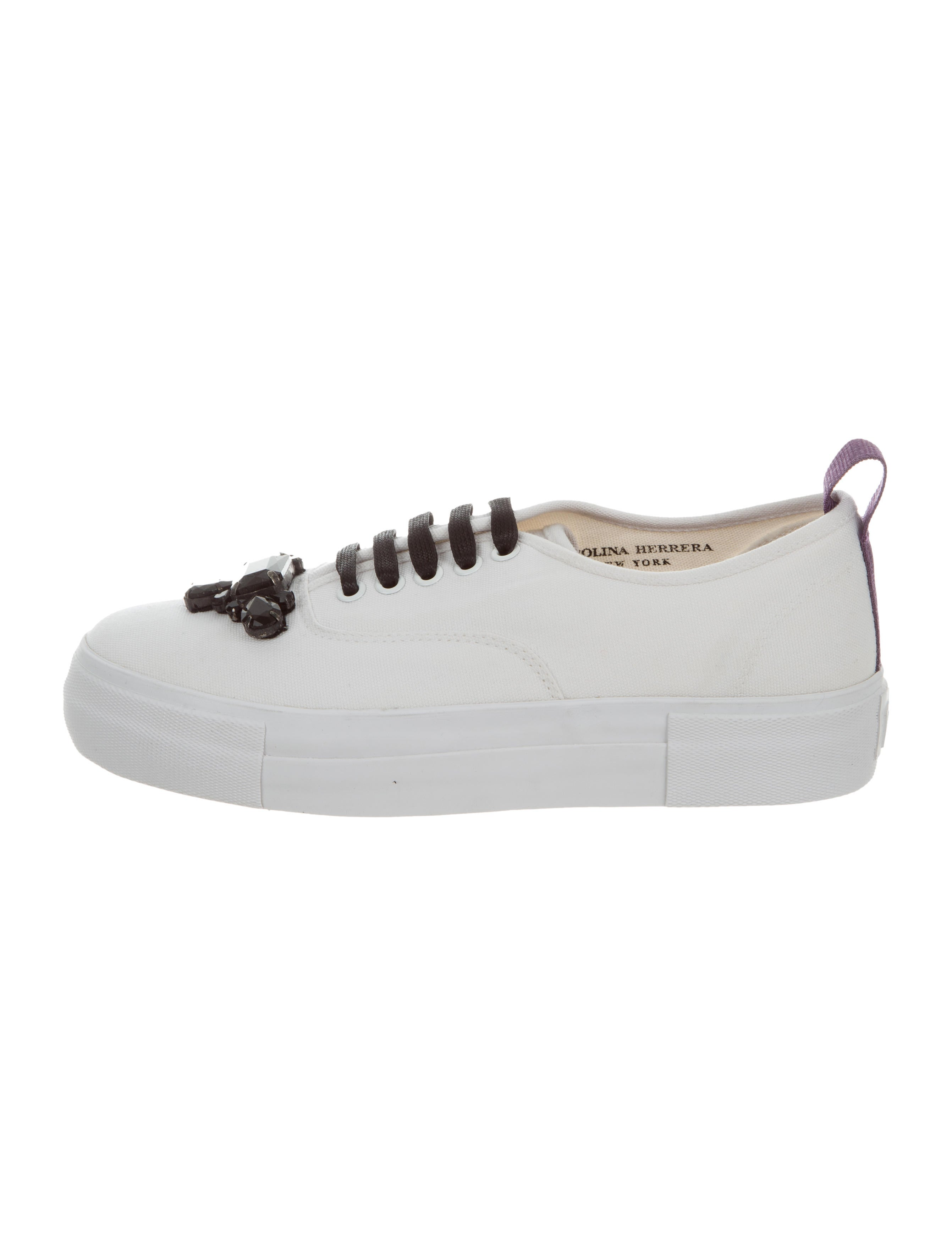 Eytys x Carolina Herrera 2016 Embellished Low-Top Sneakers w/ Tags outlet low price fee shipping store sale buy cheap browse rgOwAEW