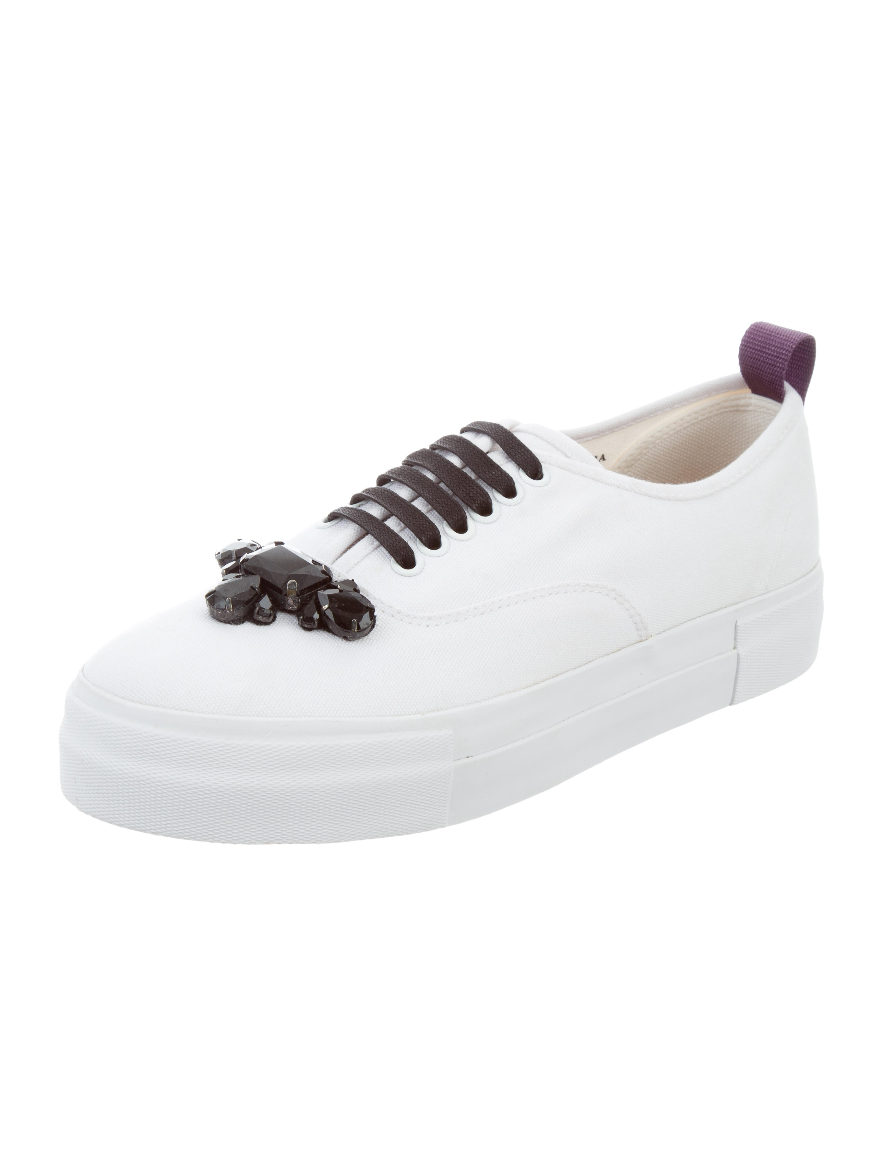 buy cheap authentic Eytys Canvas Low-Top Sneakers w/ Tags free shipping marketable release dates for sale hot sale online ke1FA3