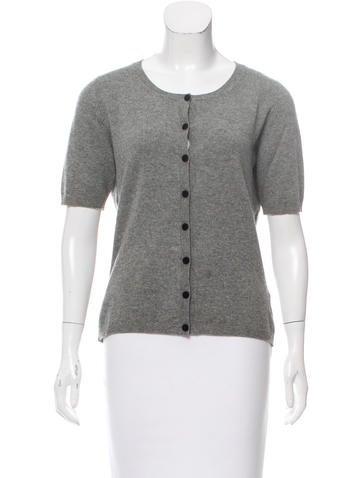 Fabiana Filippi Short Sleeve Wool Cardigan None