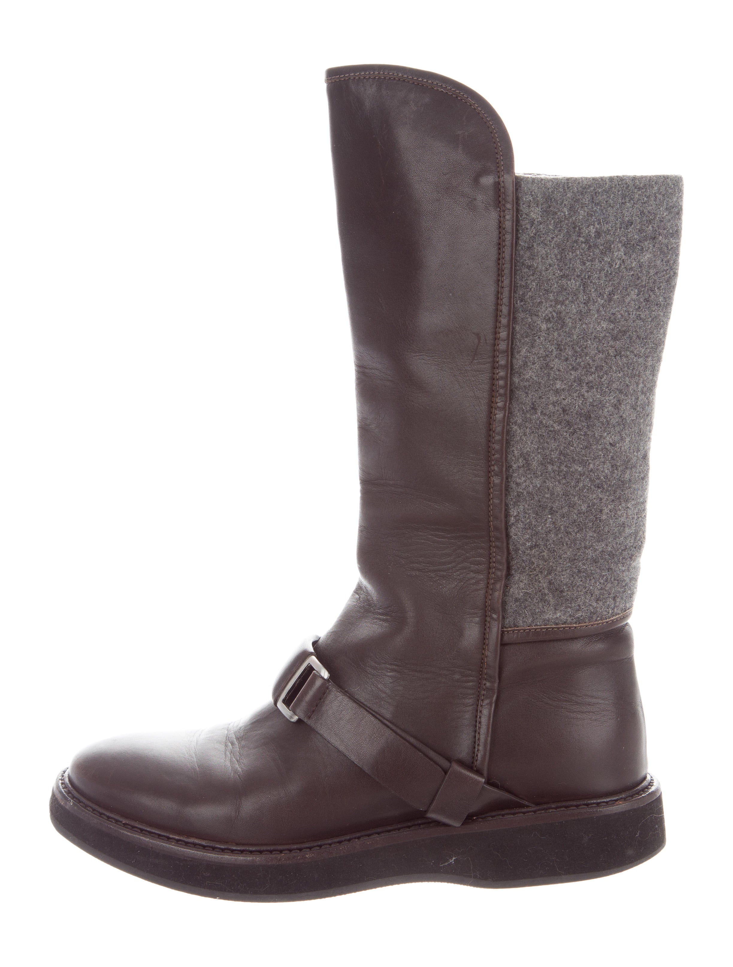 clearance purchase Fabiana Filippi Leather Mid-Calf Boots clearance largest supplier visa payment for sale buy cheap eastbay cheap sale many kinds of w1D5LBBzxZ