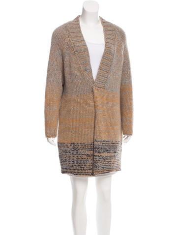 Fabiana Filippi Cashmere Knit Coat w/ Tags None