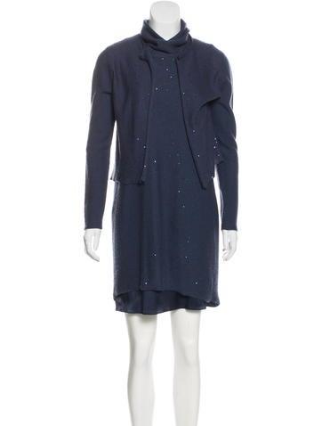 Cashmere Midi Dress Set