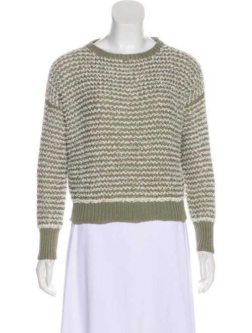 Fabiana Filippi Knit Textured Sweater white