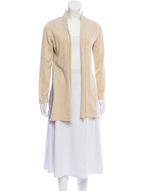 Fabiana Filippi Lightweight Shawl-Collar Cardigan