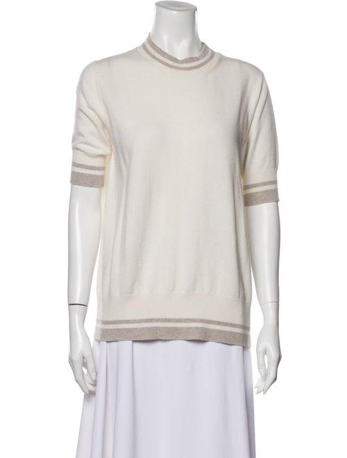 Fabiana Filippi Crew Neck Short Sleeve Sweatshirt