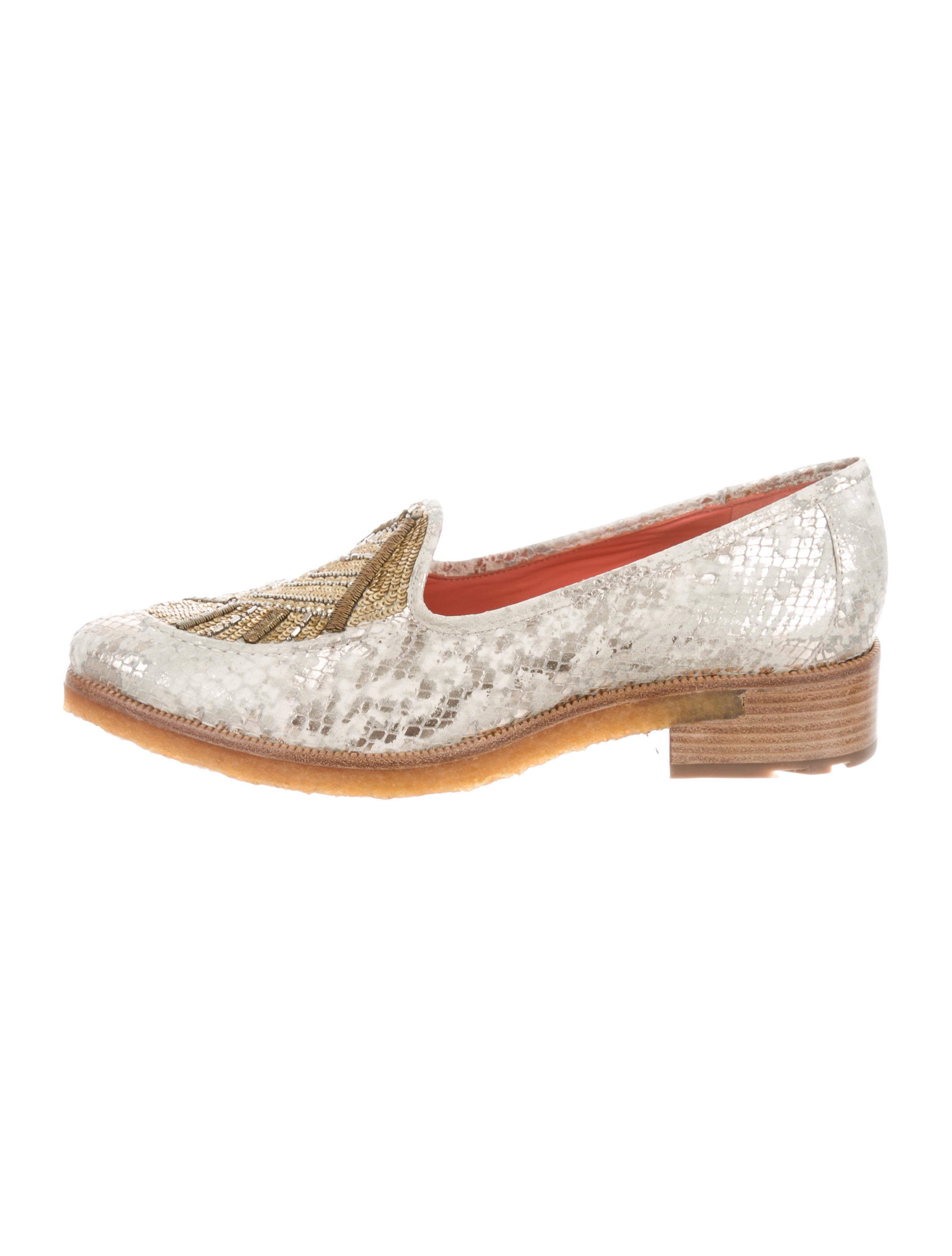 Femmes Sans Peur Trixy Embellished Loafers w/ Tags cheap sale wholesale price clearance cheapest price 1knmqeRJx