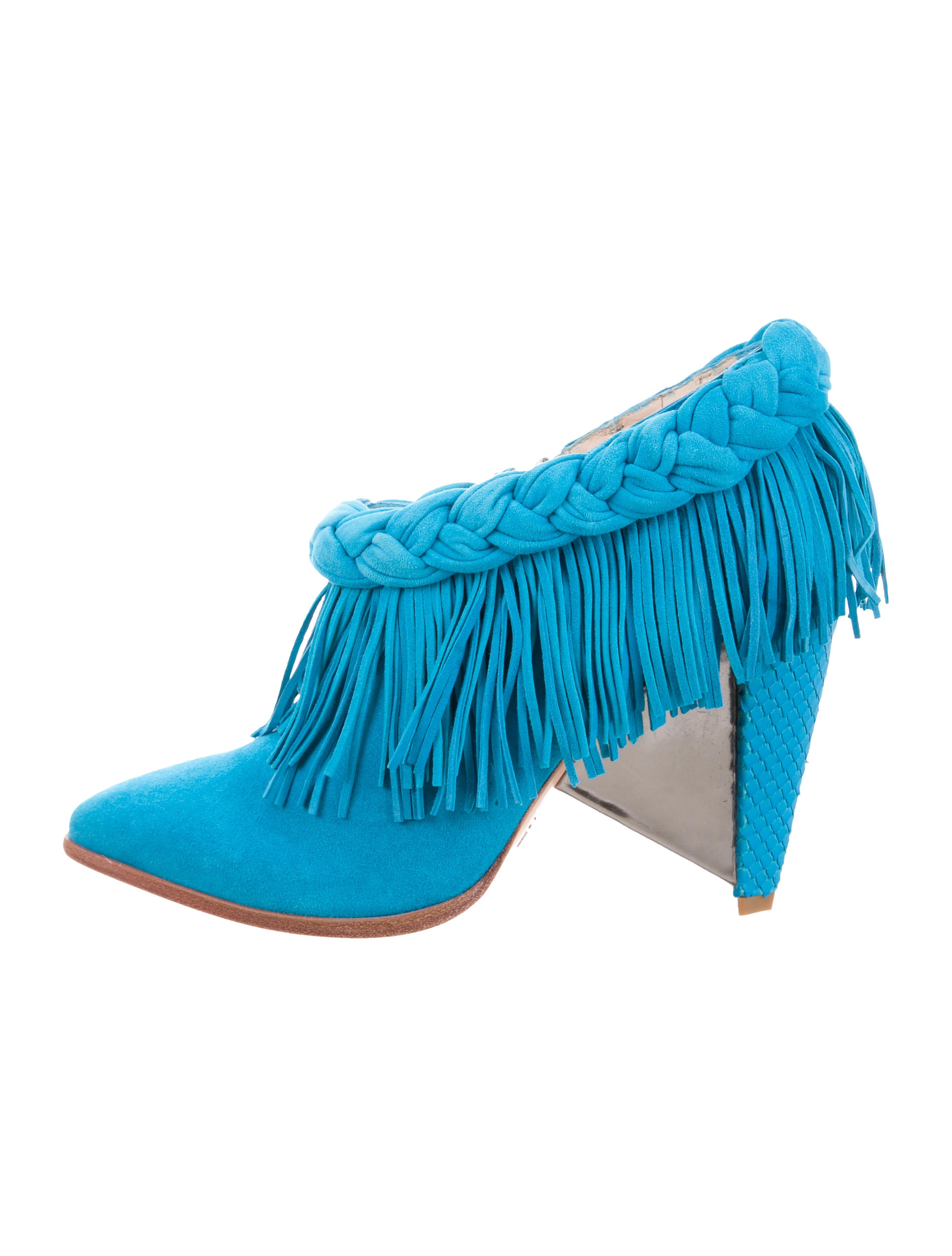 outlet ebay Femmes Sans Peur Astra Fringe Booties w/ Tags websites cheap price from china footlocker finishline cheap online RChu4QzG6j