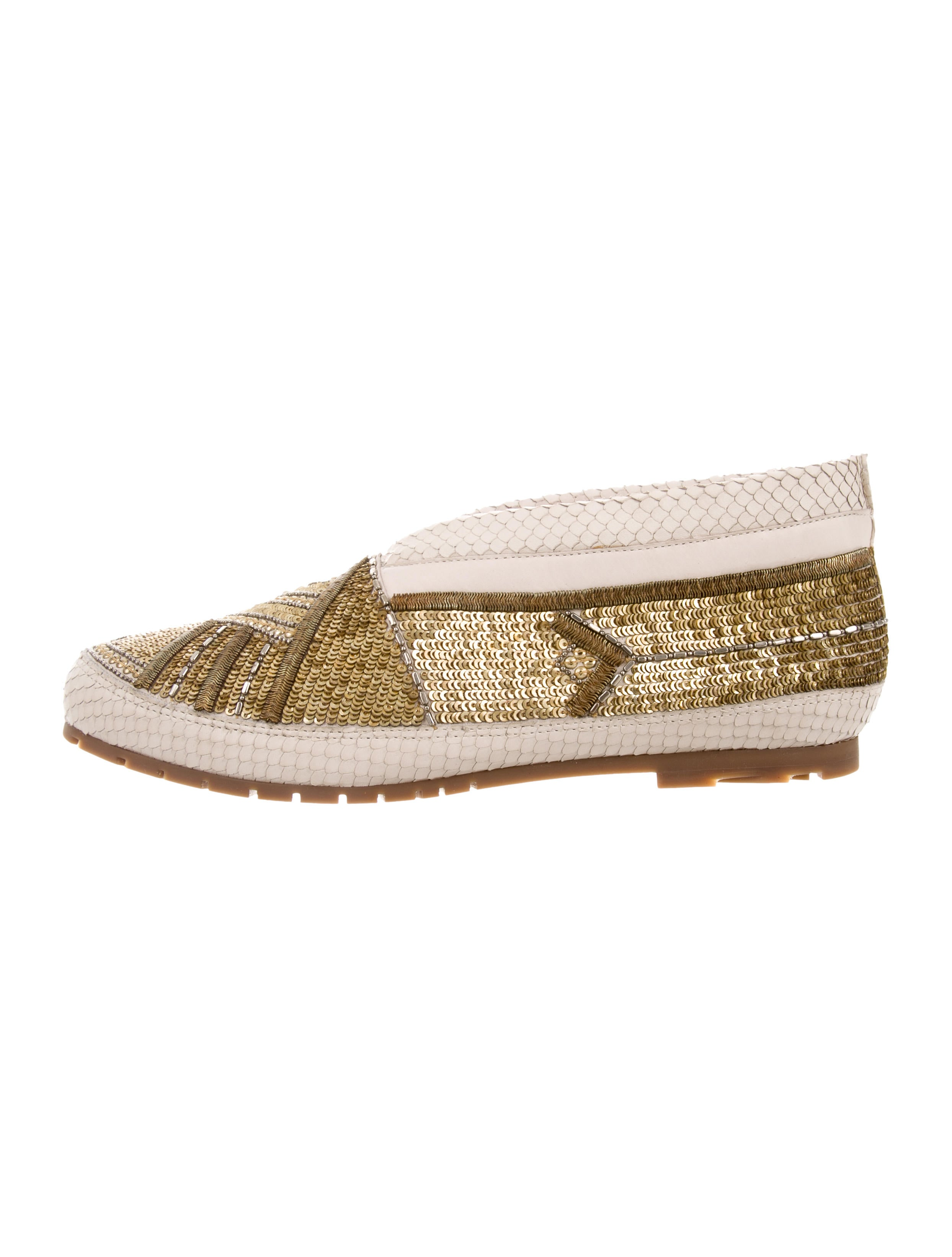 Femmes Sans Peur 2017 Faye Python Moccasins w/ Tags nicekicks cheap online buy cheap footlocker great deals online Zdhj6D