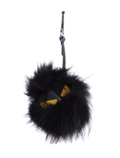 93dba757ca8 Fendi Fox Fur 'Fusto' Monster Bag Bug - Accessories - FEN100752 ...