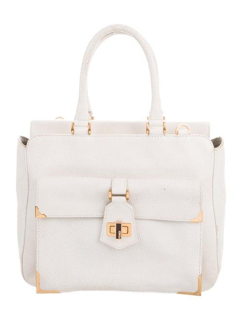 4b14f89862c8 Fendi Leather Handle Bag - Handbags - FEN100991