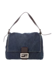 23e6db3fc65 Fendi. Denim Mama Forever Bag