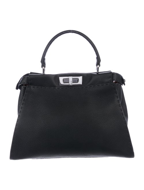 2fba14156662a7 Fendi Medium Selleria Peekaboo Bag - Handbags - FEN101240 | The RealReal