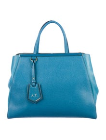 c305601b2a20 Fendi. Leather 2Jours Tote Bag