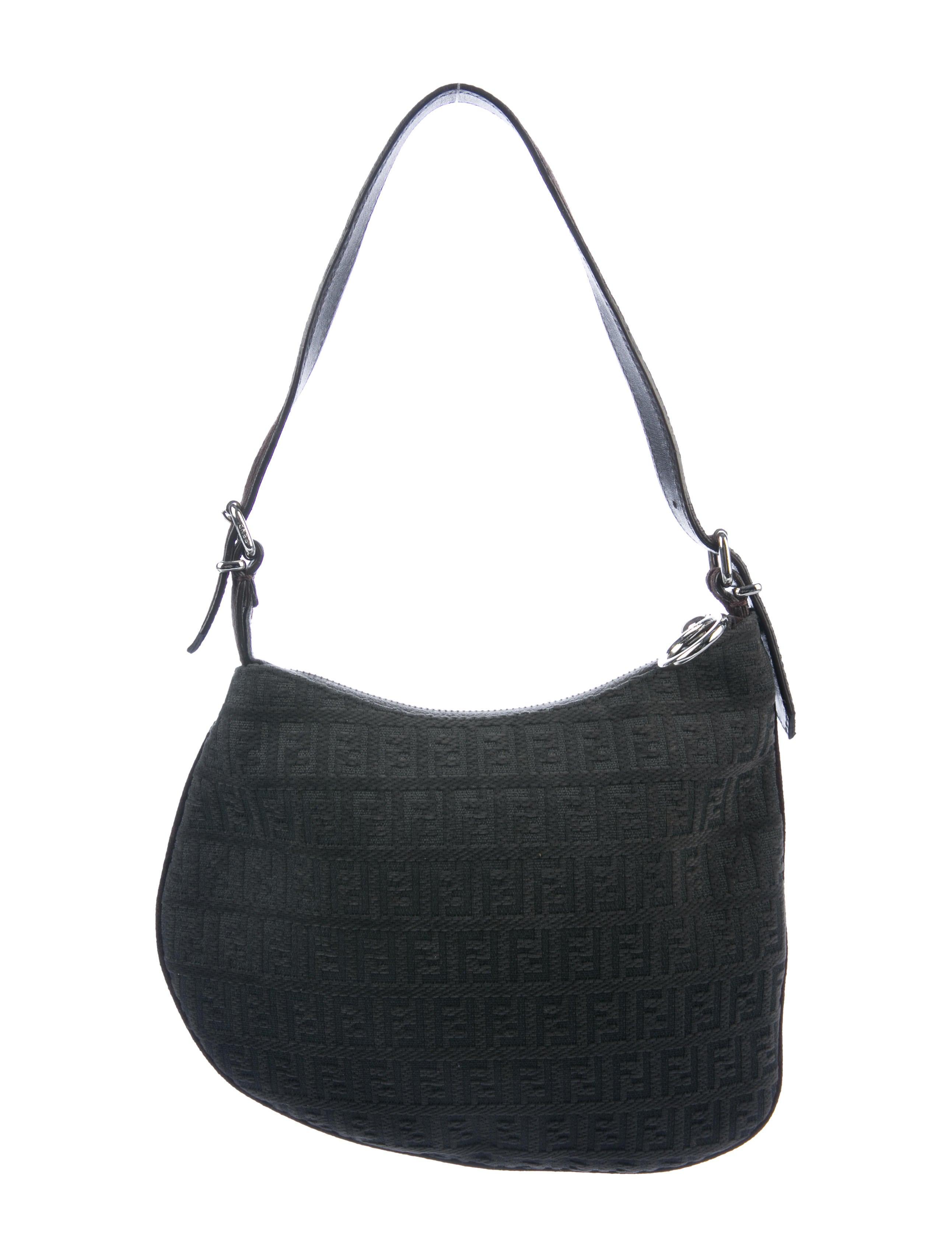 14344e3bb4b3 Fendi Zucchino Oyster Bag - Handbags - FEN101688