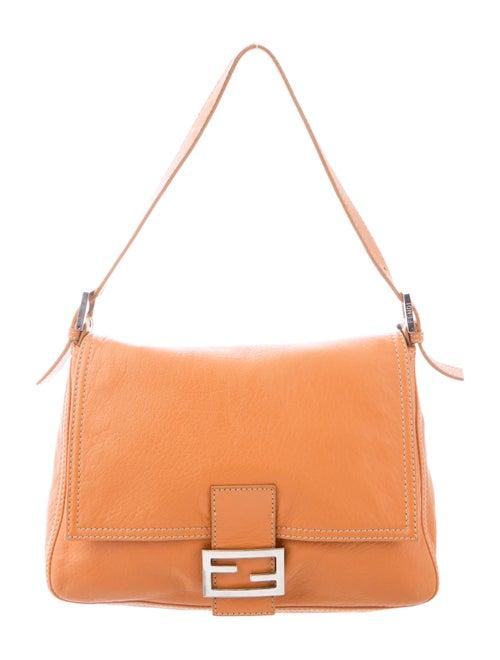 Fendi Leather Mama Forever Bag Orange