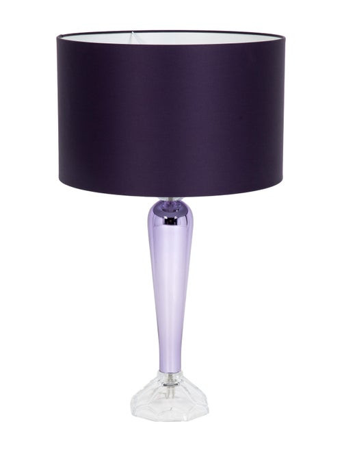 Large Glass Table Lamp