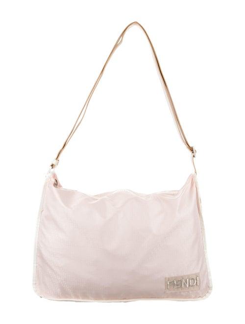 Fendi Nylon Shoulder Bag Pink