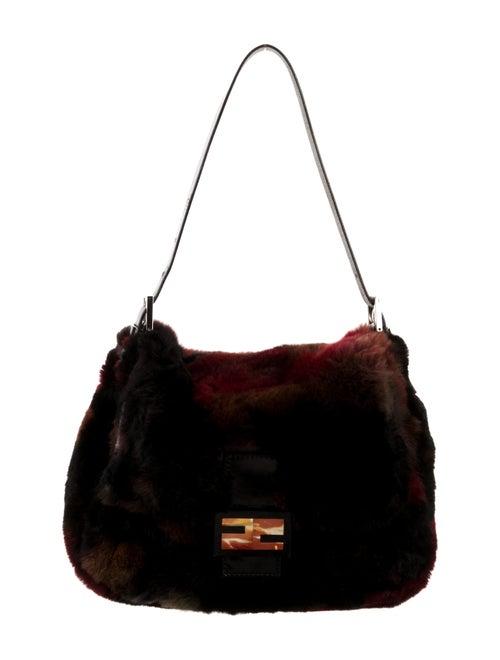 Fendi Fur Mama Forever Bag Black
